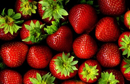 Strawberries - the superfood that's great for your skin.