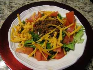 Taco salad - ole!