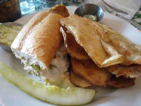 Mr. Chicken Sandwich - my split
