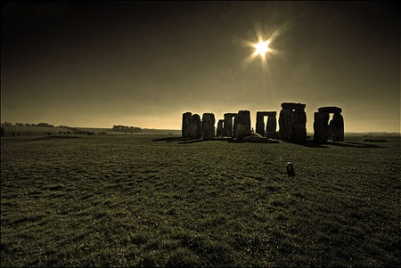 Stonehenge - in all of it's glory.