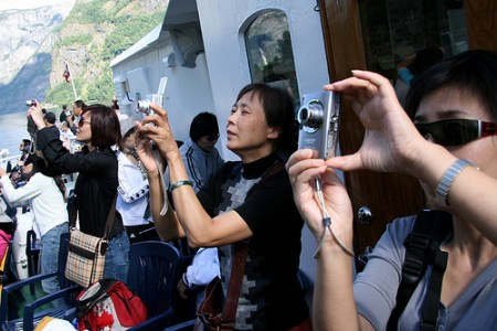 Japanese tourists are considered the best tourists in the world!