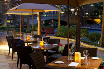 Zocco restaurant in the Westin Riverwalk, San Antonio