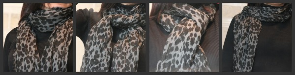 French Lessons: One Scarf, Four Ways