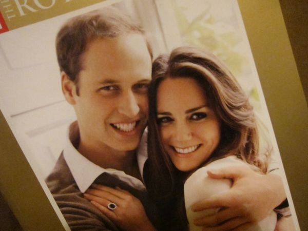 Prince William and Kate Wedding Photo