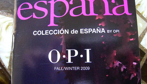 New OPI Polish Leaves You Barefoot in Barcelona
