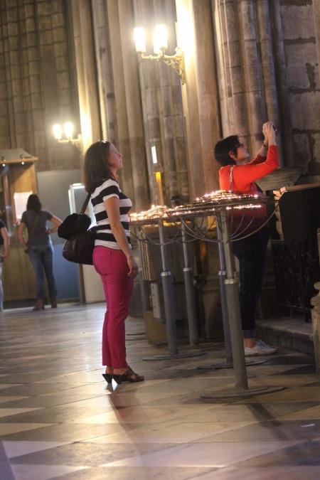 Jen in Notre Dame