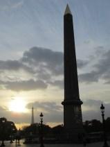 Obélisque et tour Eiffel