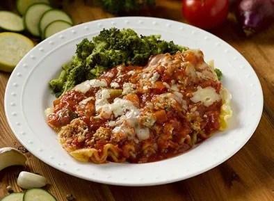 Lasagna with Garden Marinara