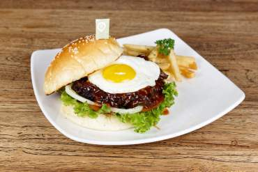 Short Ribs Burger