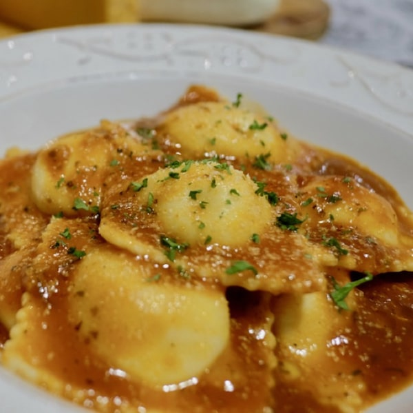 Italian Sausage Ravioli