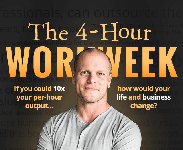 Trabalhe 4 horas por semana por Tim Ferris