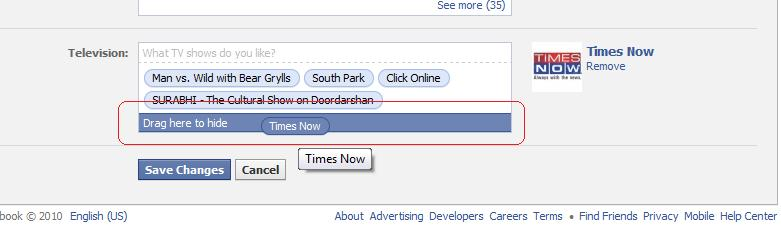 All about Profile Info layout changes on Facebook. (1/2)