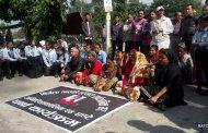निर्मला हत्या प्रकरण: धर्नामा विप्लवका नेताको ऐक्यबद्धता