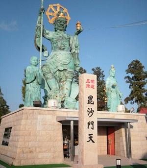 日本一の毘沙門天