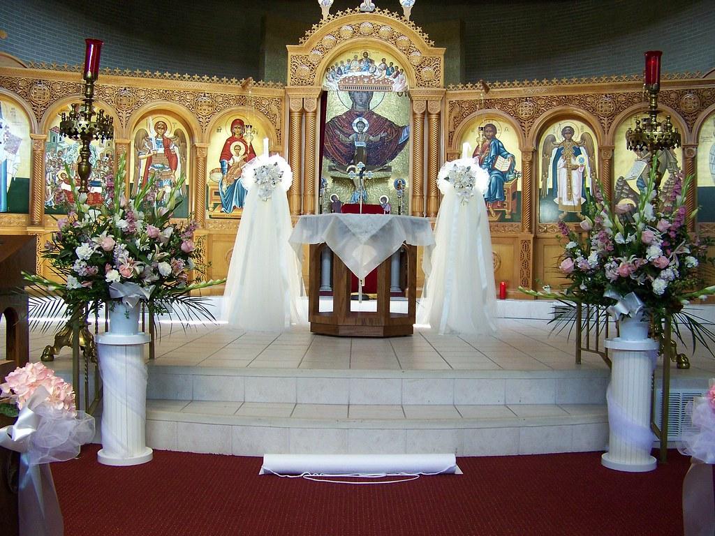 CHURCH ALTAR FLOWER ARRANGEMENTS