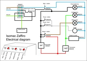 REFRIGERATOR ELECTRICAL DIAGRAM