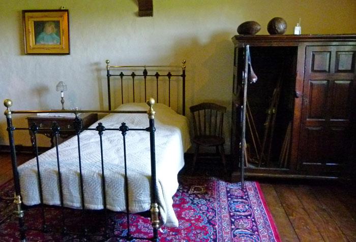 John Kipling, bedroom, Bateman's