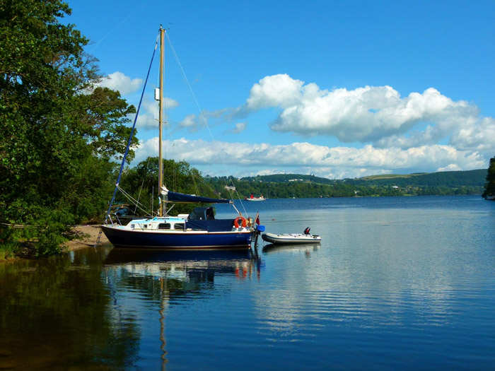 Ullswater, yacht, Howtown
