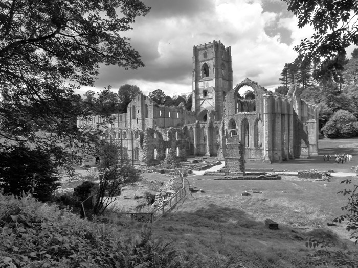 Fountains, Abbey, Yorkshire