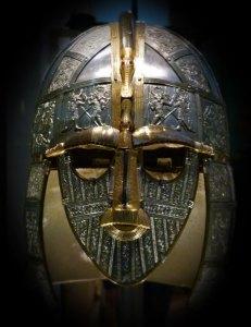 Sutton Hoo, Saxon helmet, British museum