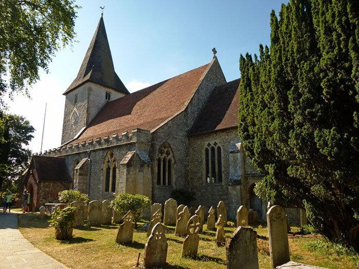 Holy Trinity, Bosham, Cnut, England