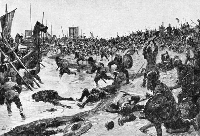 Battle, Brunanburh, England
