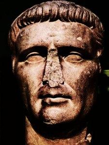 Claudius, bust, British Museum
