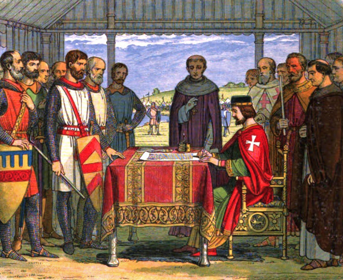 King John, seal, Magna Carta