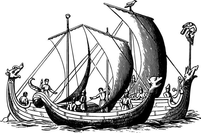Saxon ships