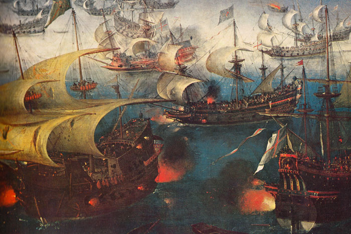Spanish Armada, invasion attempt