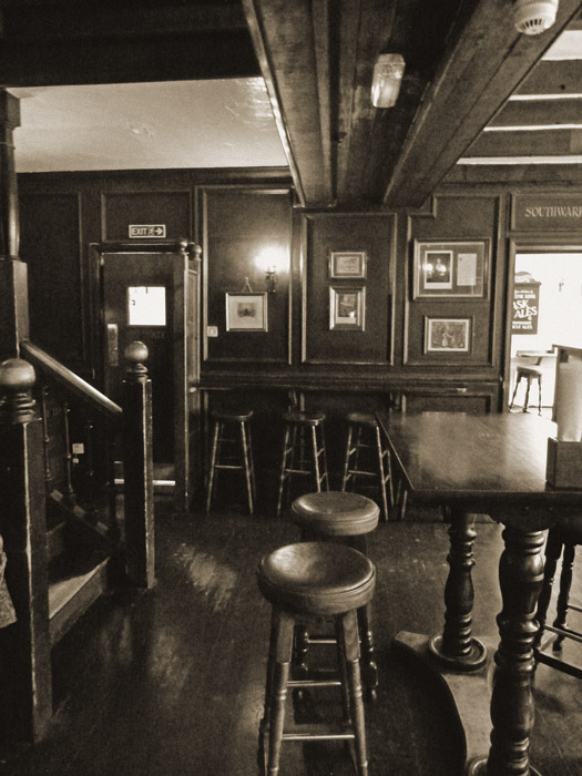 George Inn, old London pubs, Southwark