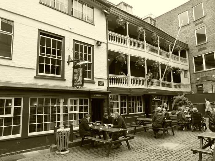 George Inn, Southwark, Borough, SE1, coaching inn