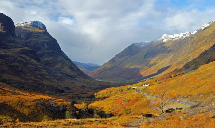 Glencoe - scene of the massacre in 1692