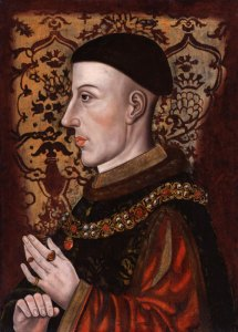 King Henry V, portrait, Hundred Years War
