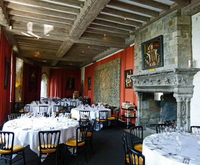 Leeds Castle, Henry, VIII, banquet