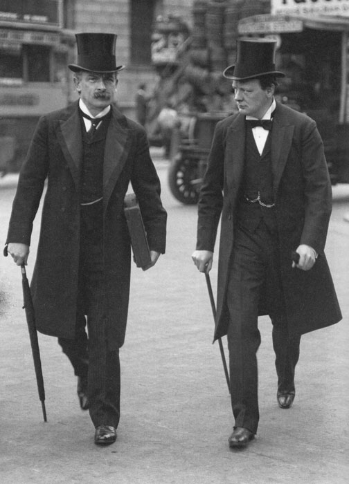 David Lloyd George, Winston Churchill, Edwardian Britain