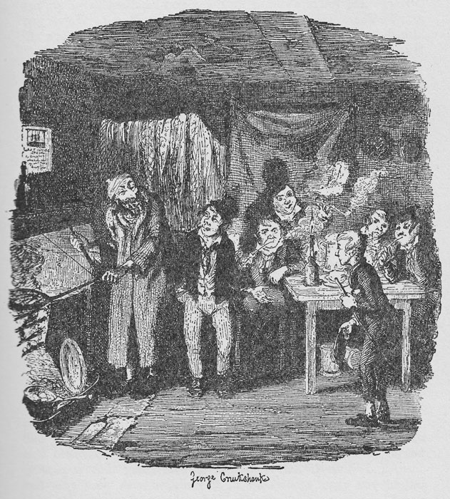 Oliver Twist meets Fagin, poverty, Britain