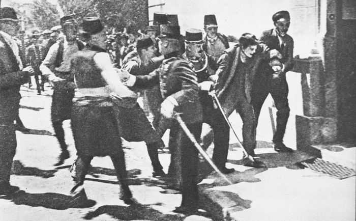 Princip lights the fuse, causes of the First World War
