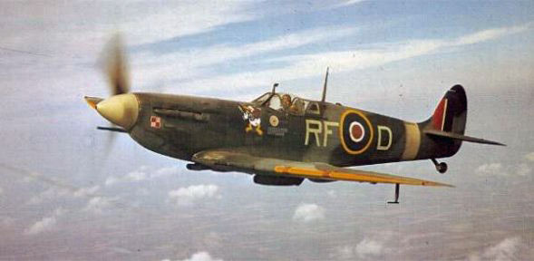 Supermarine Spitfire Vb, Second World War