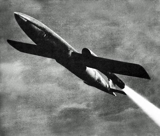 Vi 'Doodlebug' flying bomb, Second World War