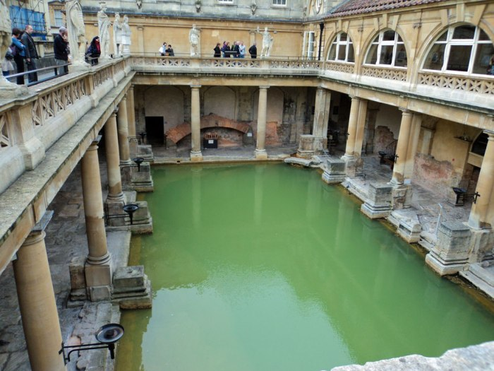 Roman Baths, Bath, South West England