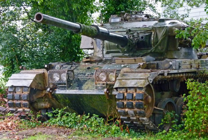 Centurian tank, Bovington