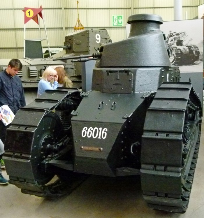 Renault FT-17 light tank, Bovington
