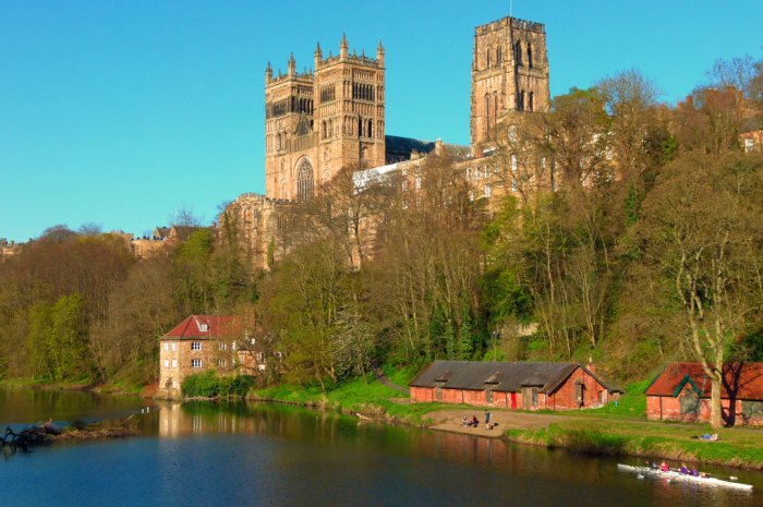 Durham Cathedral, River Wear, North East
