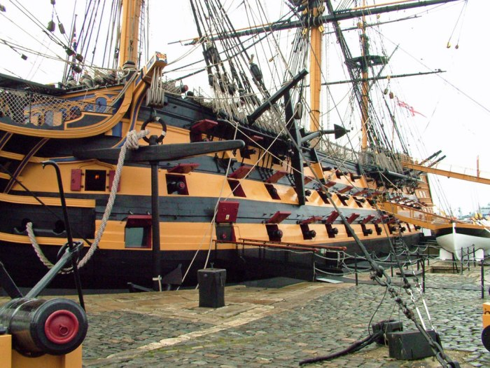 HMS Nelson, Portsmouth, Hampshire, South East England