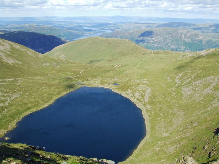 Lake District, Helvellyn, Red Tarn, North West England
