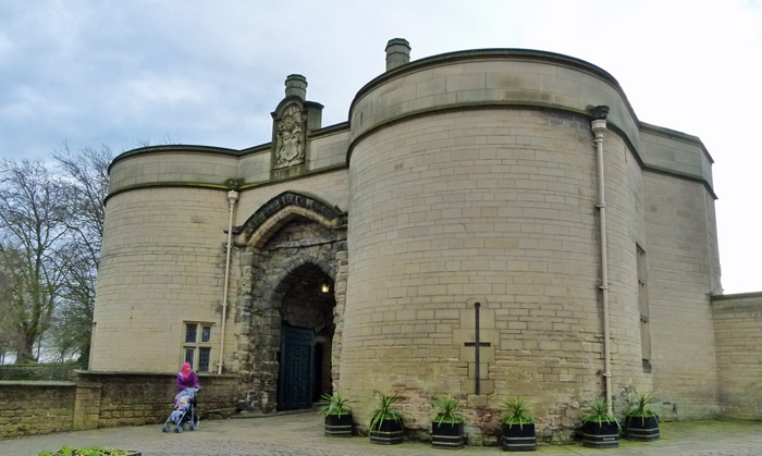 Nottingham Castle, gatehouse