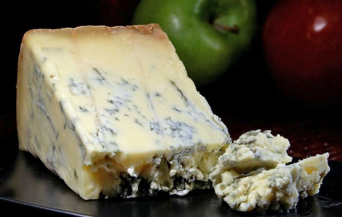 Blue Stilton Cheese, East Midlands