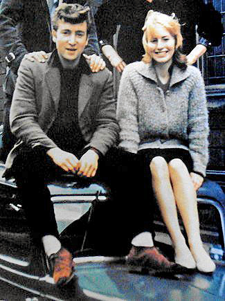 John and Cynthia in 1959