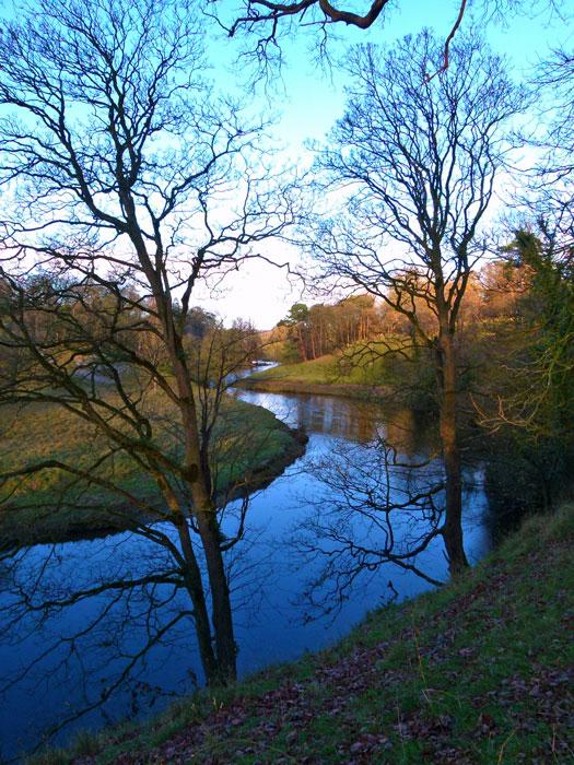 Levens Park - river Kent